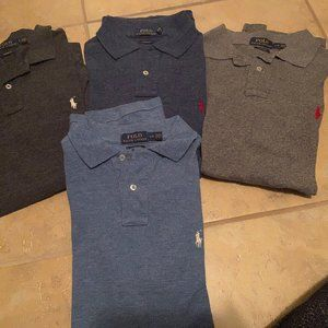 Polo Ralph Lauren Custom Fit Polos Lot